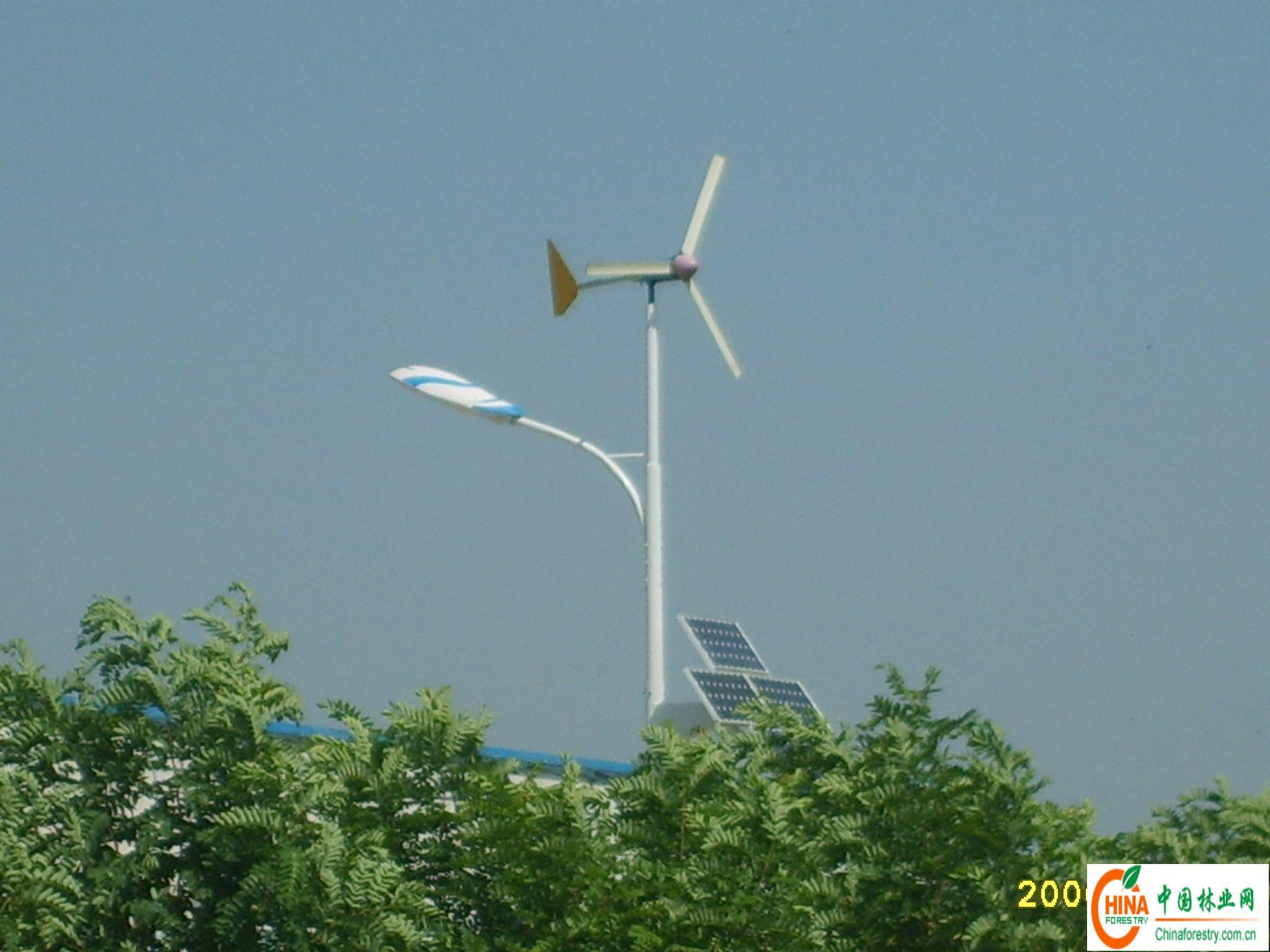 产品名称:风光互补太阳能路灯